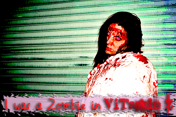 Vitamin Z, zombie, photos, pictures, portfolio, extras, cast, movie, series, web, internet, film, video, independent