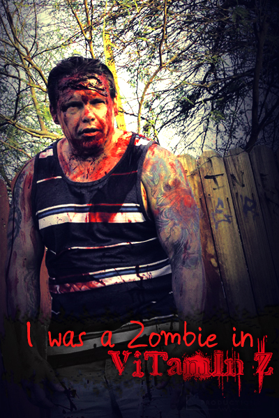 Jeremy Brooks was a zombie in Vitamin Z