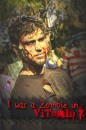 Logan Kennedy was a zombie in Vitamin Z