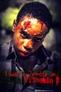 Quincy Young was a zombie in Vitamin Z